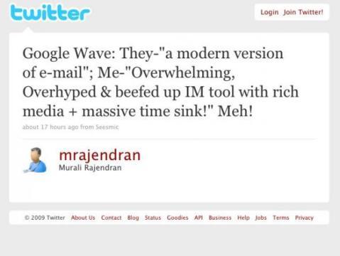 Wave Tweet